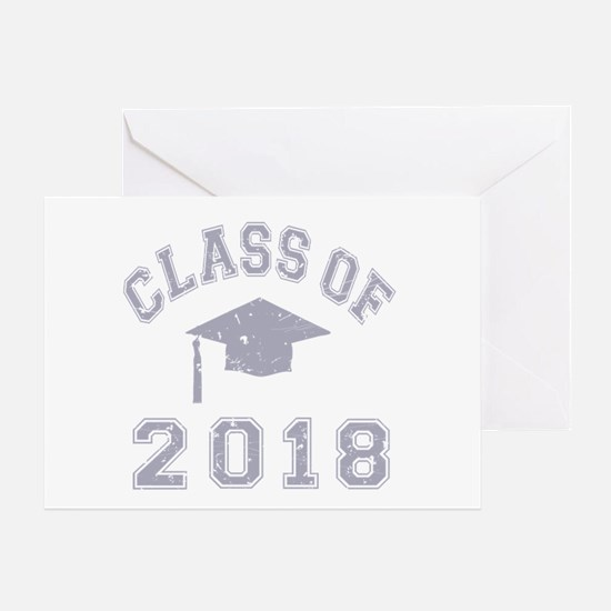 Class Of 2018 Graduation Greeting Card