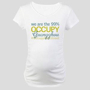 Occupy Guangzhou Maternity T-Shirt