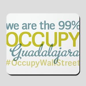 Occupy Guadalajara Mousepad
