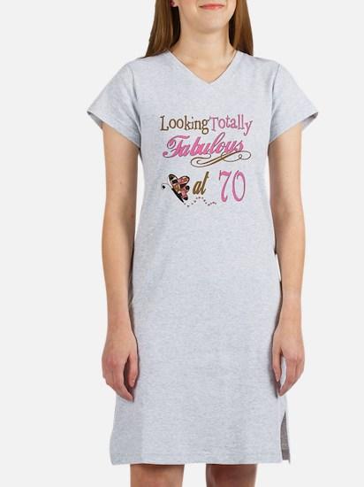 Fabulous 70th Women's Nightshirt