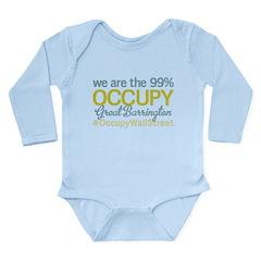 Occupy Great Barrington Long Sleeve Infant Bodysui