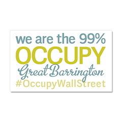 Occupy Great Barrington Car Magnet 20 x 12
