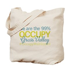 Occupy Grass Valley Tote Bag