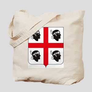 Sardinia Coat of Arms Tote Bag