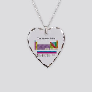 Periodic Table Necklace Heart Charm