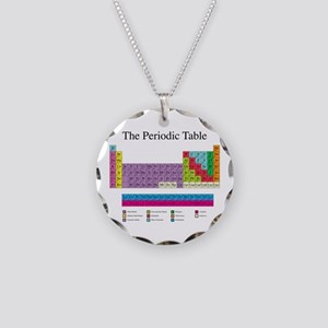 Periodic table jewelry cafepress periodic table necklace circle charm urtaz Images