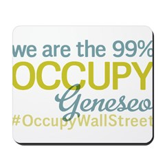 Occupy Geneseo Mousepad