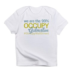 Occupy Galveston Infant T-Shirt
