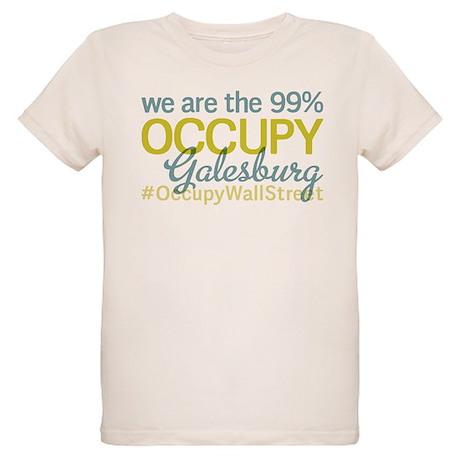 Occupy Galesburg Organic Kids T-Shirt