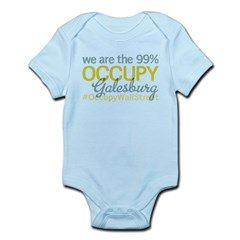 Occupy Galesburg Infant Bodysuit