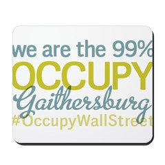 Occupy Gaithersburg Mousepad