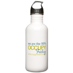 Occupy Friday Harbor Water Bottle
