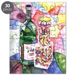 Wine and Candy Puzzle