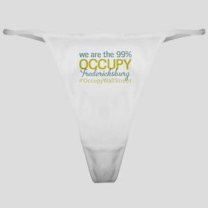Occupy Fredericksburg Classic Thong