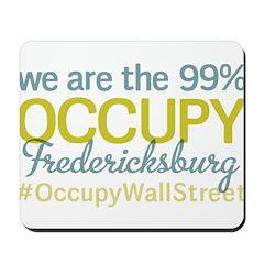 Occupy Fredericksburg Mousepad