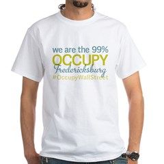 Occupy Fredericksburg White T-Shirt