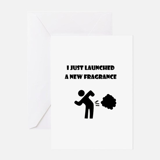 I just launched a new fragrance Greeting Card