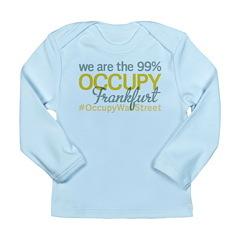 Occupy Frankfurt Long Sleeve Infant T-Shirt