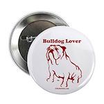 Bulldog Lover Button
