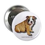 Bulldog Puppy Button