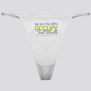 Occupy Fort Worth Classic Thong