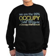 Occupy Fort Wayne Sweatshirt (dark)