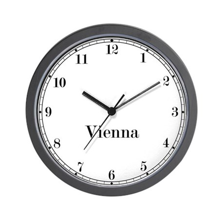 Vienna Classic Newsroom Wall Clock
