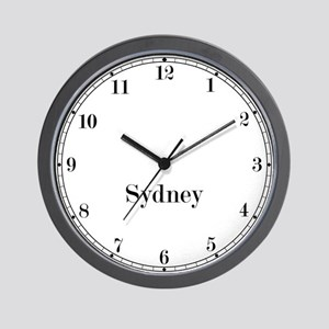 Sydney Classic Newsroom Wall Clock