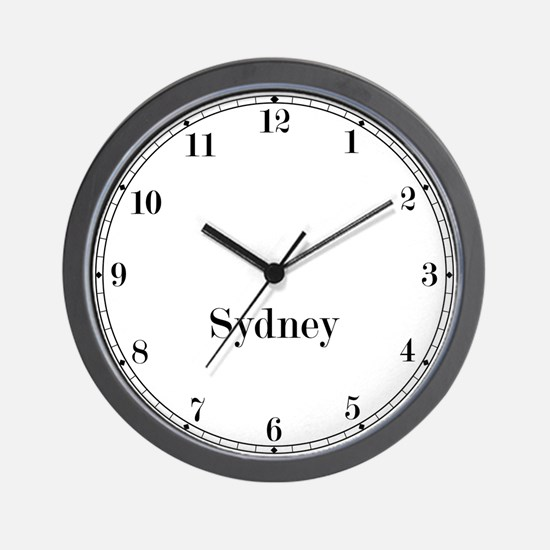 Sydney Classic Newsroom Wall Clock