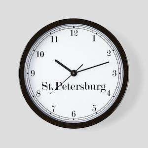 St Petersburg Classic Newsroom Wall Clock
