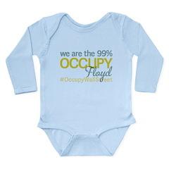 Occupy Floyd Long Sleeve Infant Bodysuit