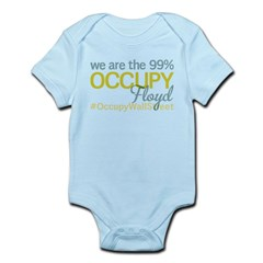 Occupy Floyd Infant Bodysuit