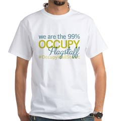 Occupy Flagstaff White T-Shirt