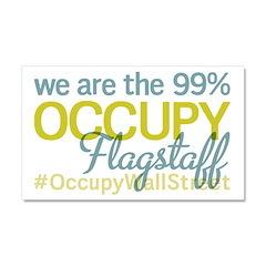 Occupy Flagstaff Car Magnet 20 x 12