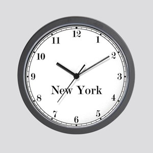 New York Classic Newsroom Wall Clock