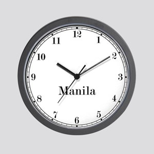 Manila Classic Newsroom Wall Clock