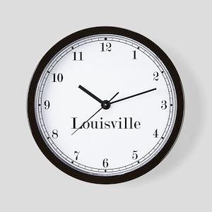 Louisville Classic Newsroom Wall Clock