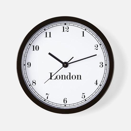 London Classic Newsroom Wall Clock