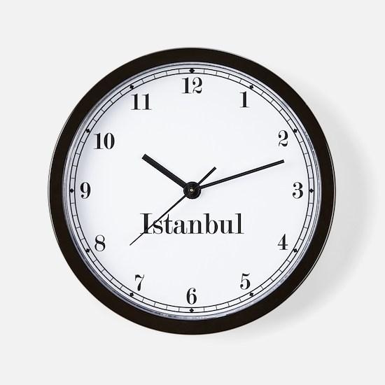 Istanbul Classic Newsroom Wall Clock