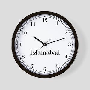 Islamabad Classic Newsroom Wall Clock