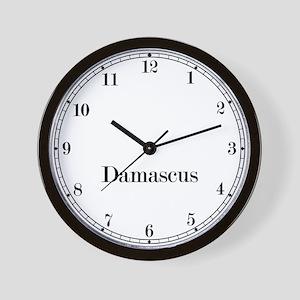 Damascus Classic Newsroom Wall Clock