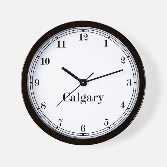 Calgary Classic Newsroom Wall Clock