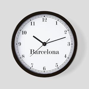 Barcelona Classic Newsroom Wall Clock