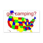 got camping? 22x14 Wall Peel