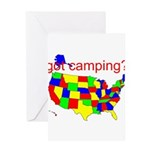 got camping? Greeting Card