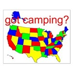got camping? Small Poster