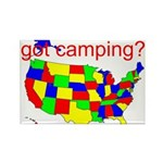 got camping? Rectangle Magnet