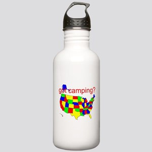 got camping? Stainless Water Bottle 1.0L
