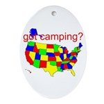 got camping? Ornament (Oval)