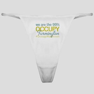 Occupy Farmington Classic Thong